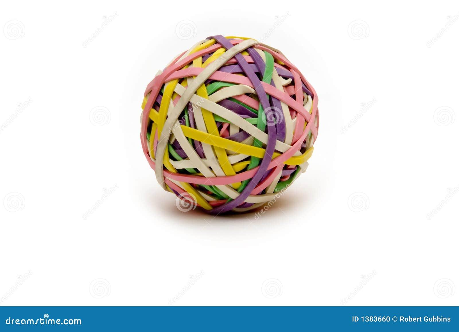 De bal van Rubberband