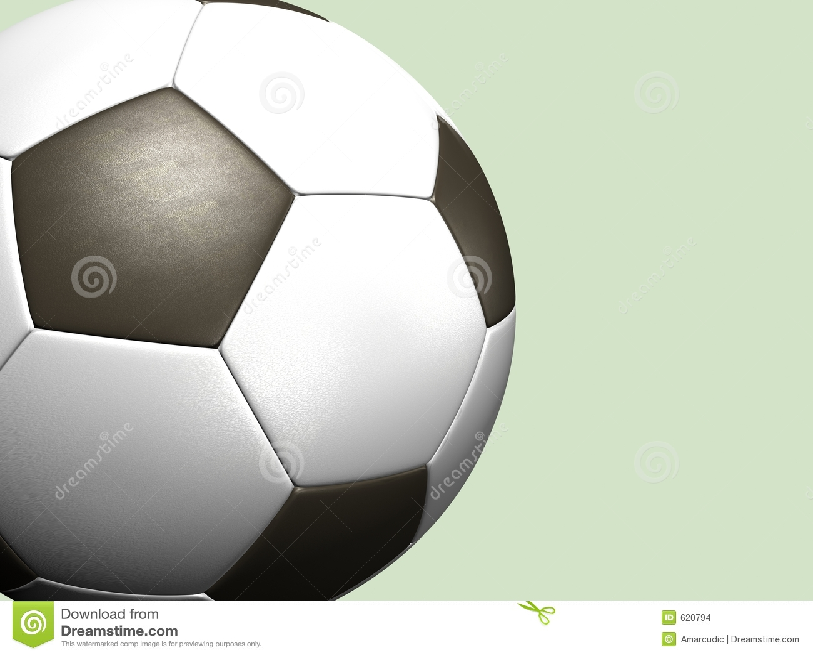 De balachtergrond van het voetbal