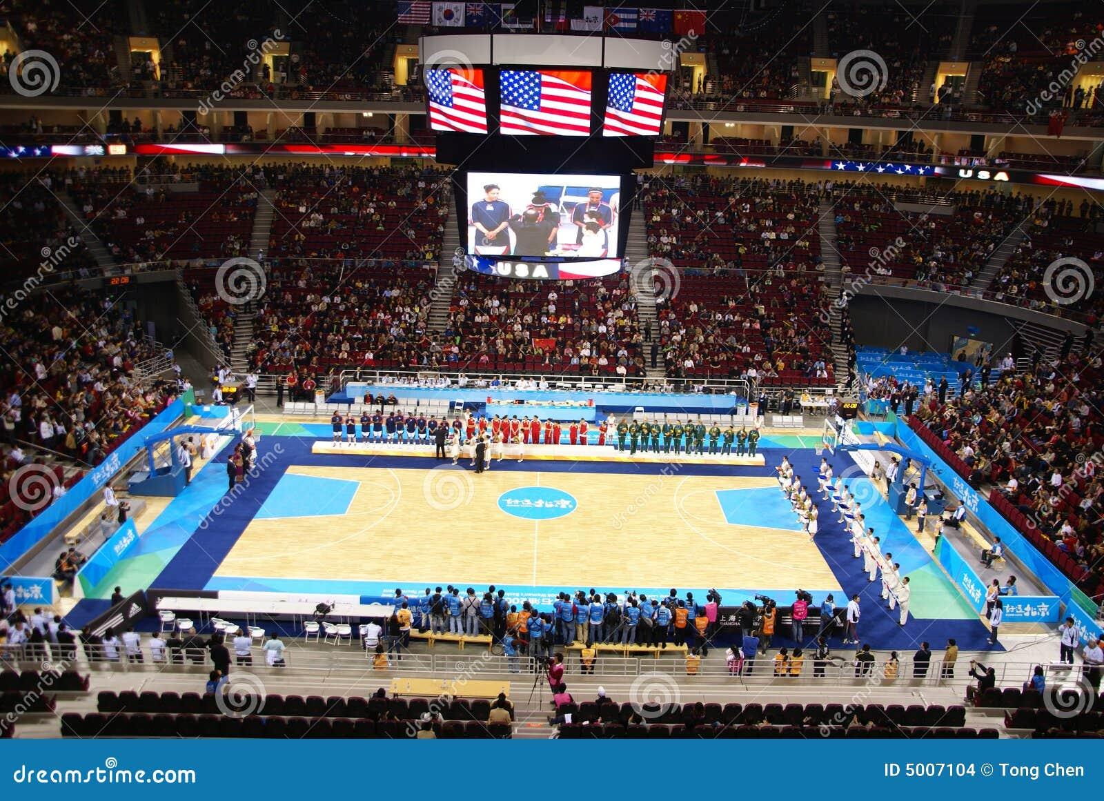 De balArena van de Mand van Peking nam de Olympische in gebruik