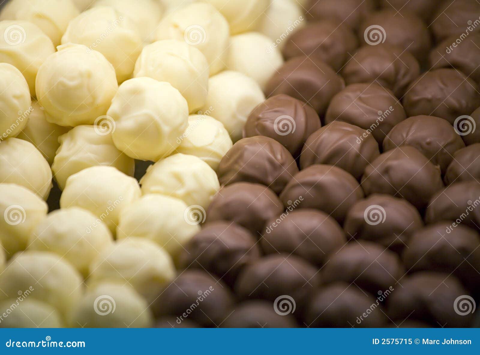 De Ballen van de chocolade