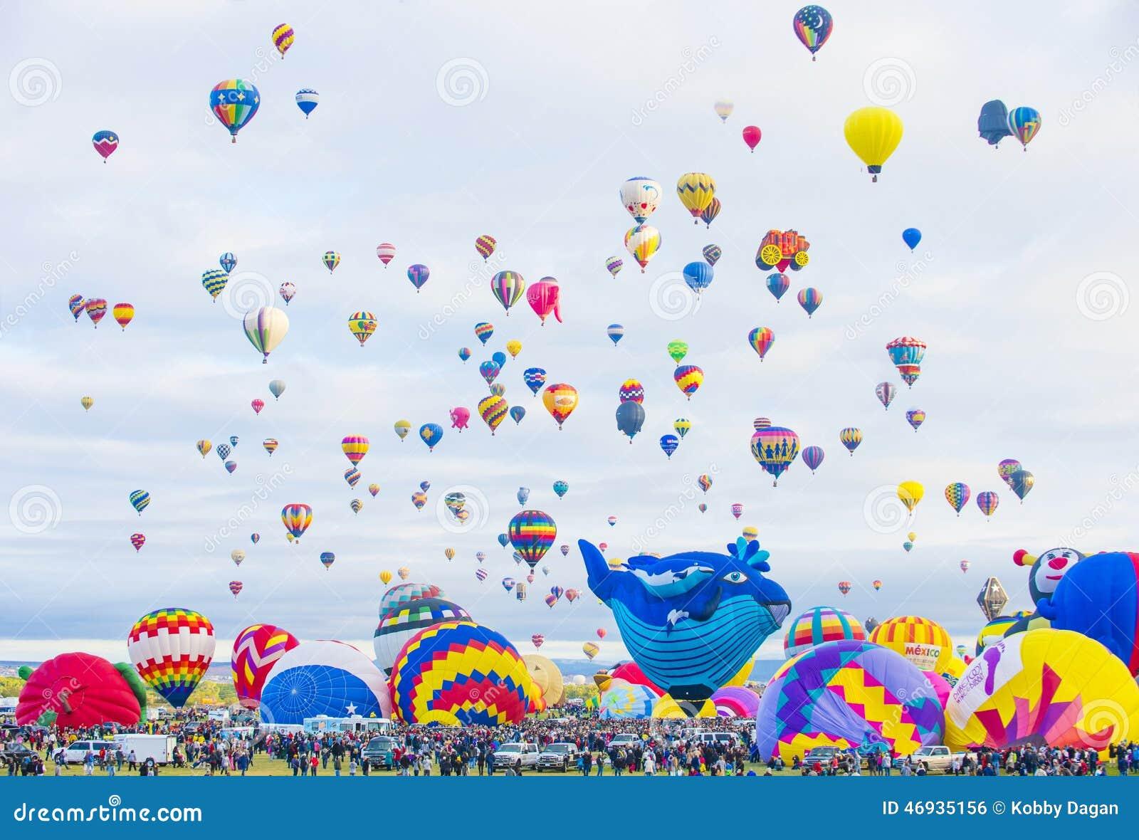 De Ballonfiesta van Albuquerque