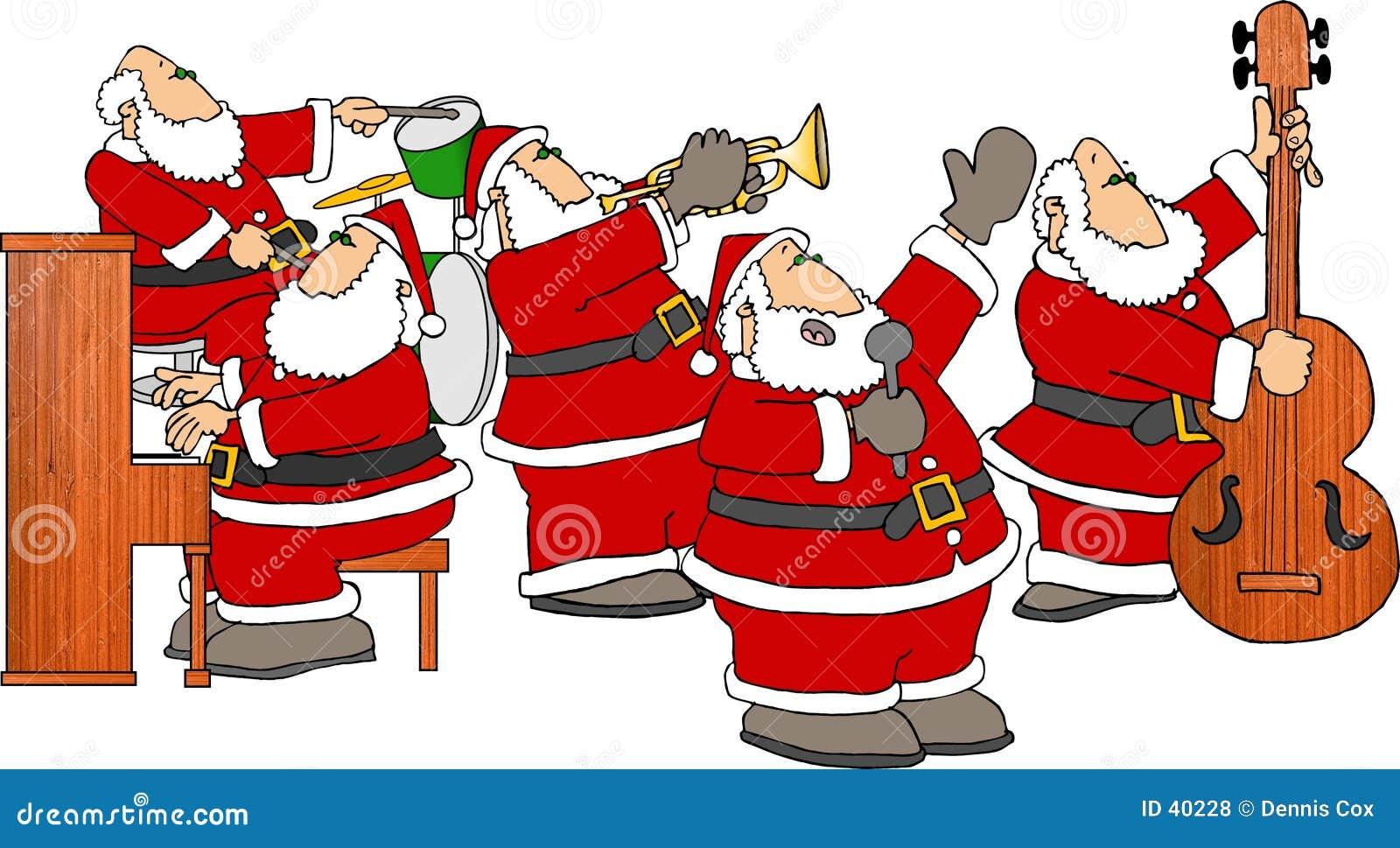 De Band van de kerstman