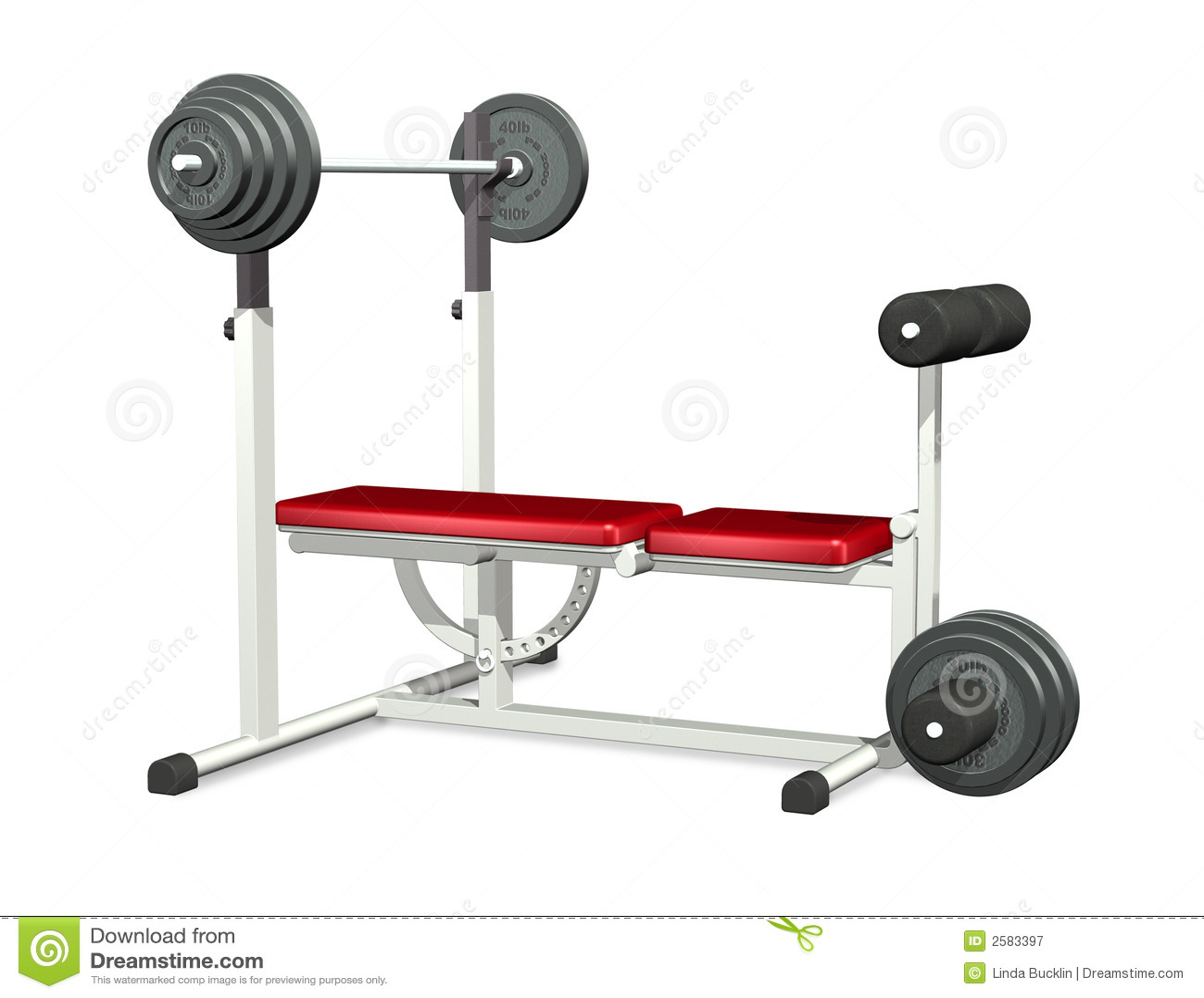 De Bank van de Macht van Weightlifting