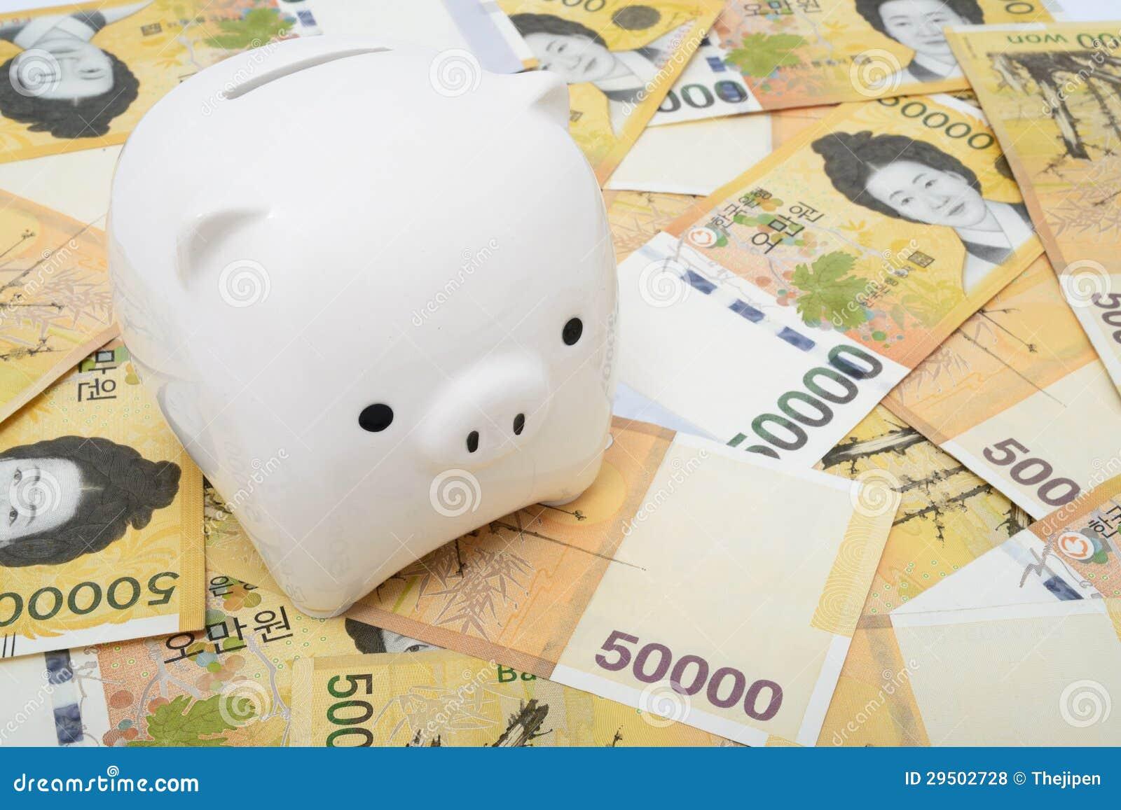 De bank van het muntstuk