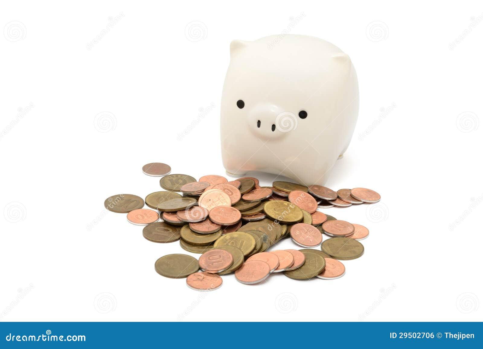 De Bank van het muntstuk met Muntstukken