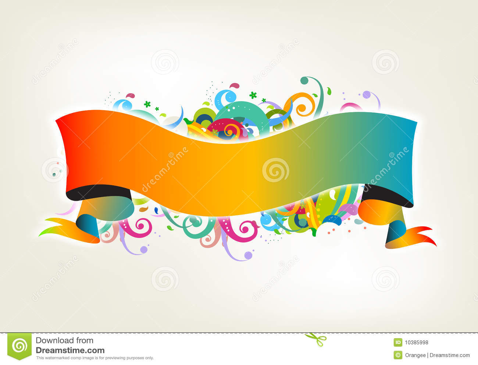 De banner van Colorfull