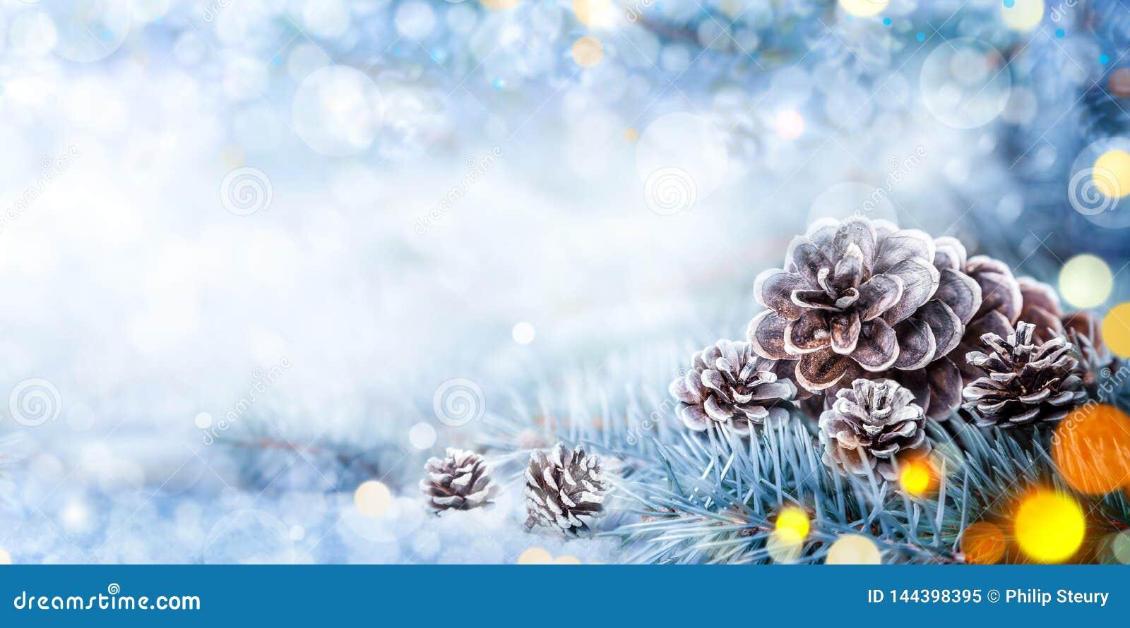 De Banner van de Kerstmisdecoratie