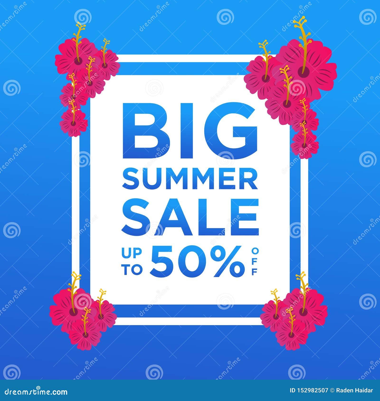De banners van de de zomerverkoop of kleurrijke ontwerpsjabloon als achtergrond Kan voor affiches, banners, bevorderingen op webs