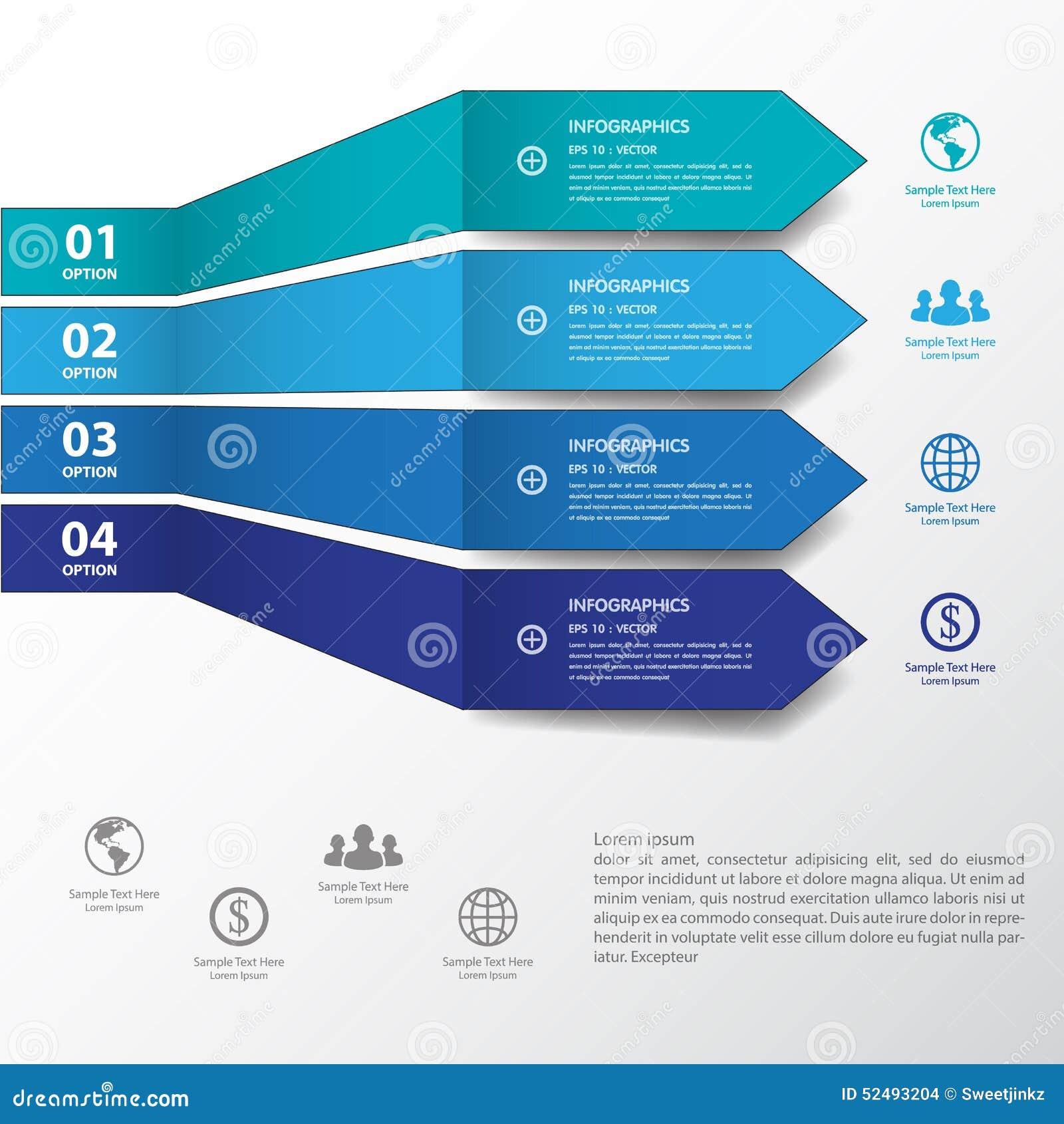 De bannersmalplaatje/grafisch of website van het ontwerp blauw aantal Vector