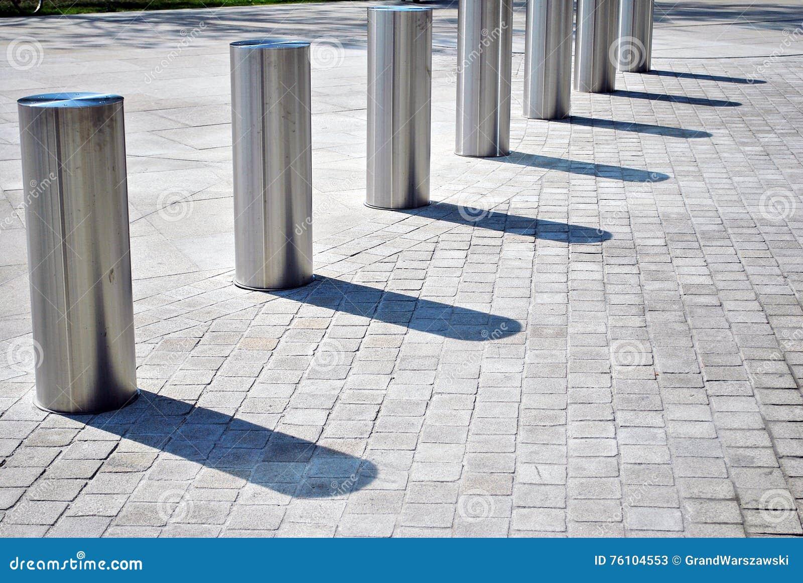 De barrière van de voertuigtoegang Perimetertoegangsbeheer voor voertuigen