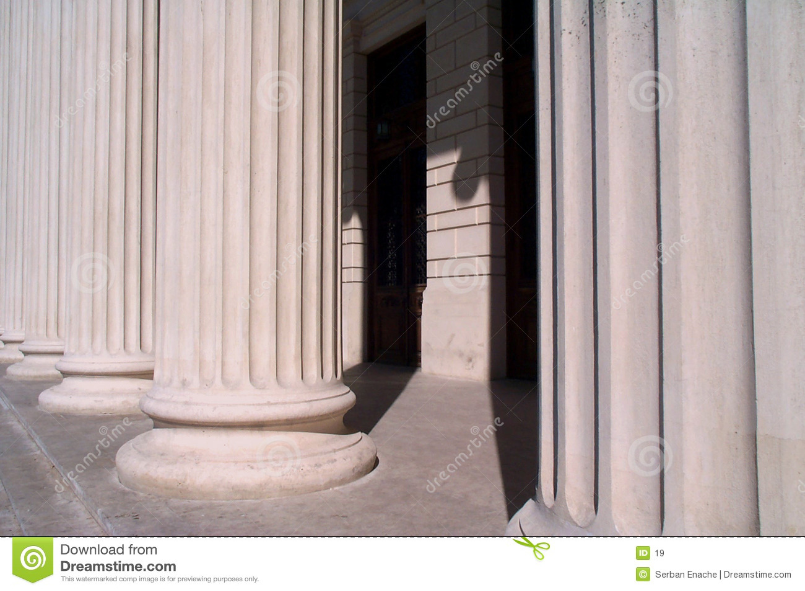 De basis van de kolom