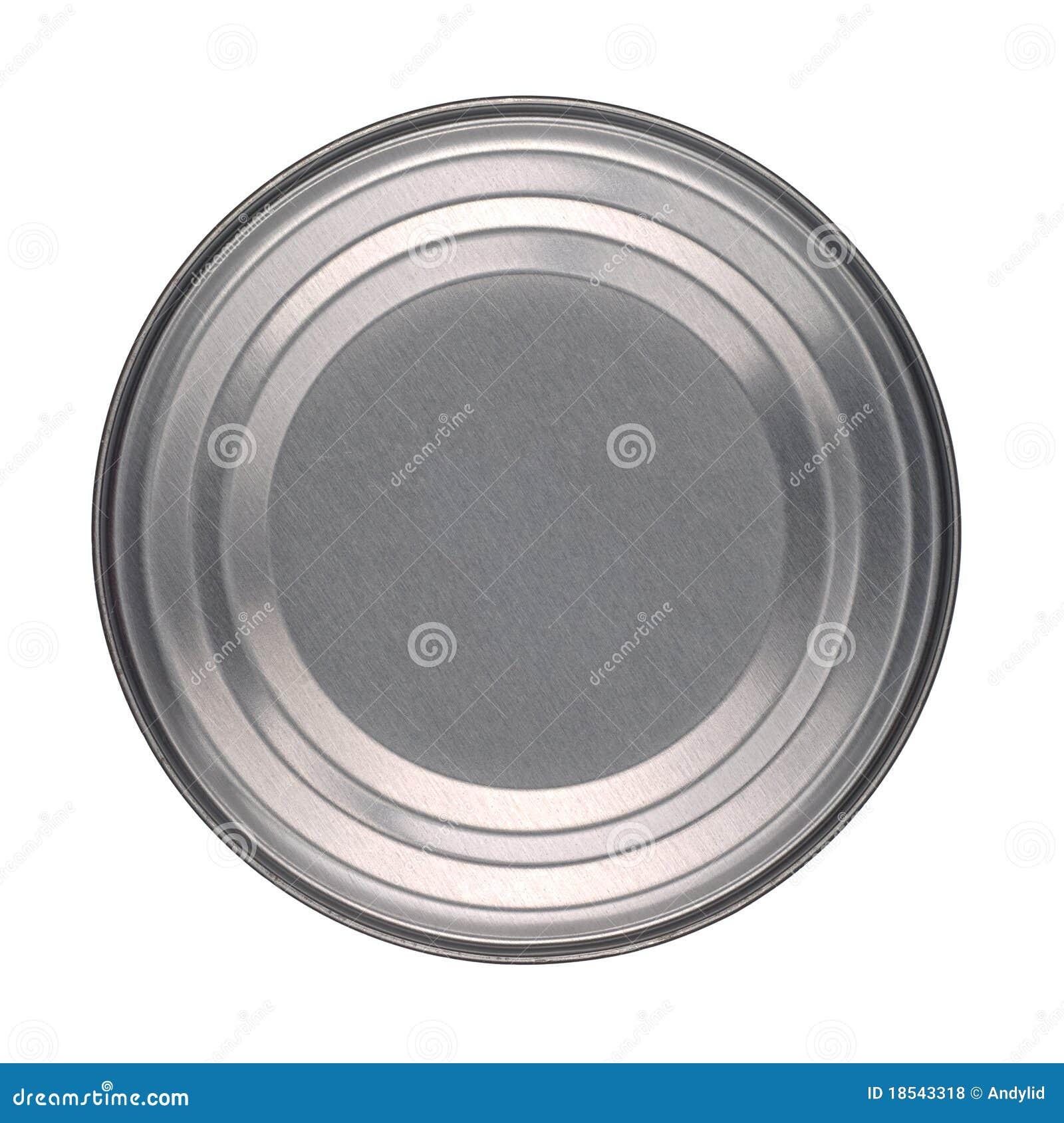 De basis van het deksel van het blik van het tin stock foto afbeelding 18543318 - Deksel van de boom ...