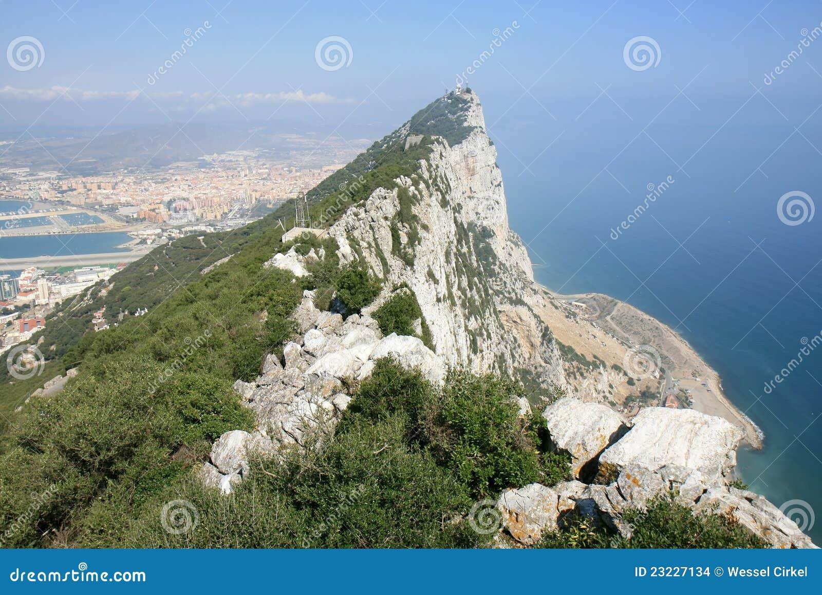 De Batterij van O Hara, Gibraltar, het Verenigd Koninkrijk