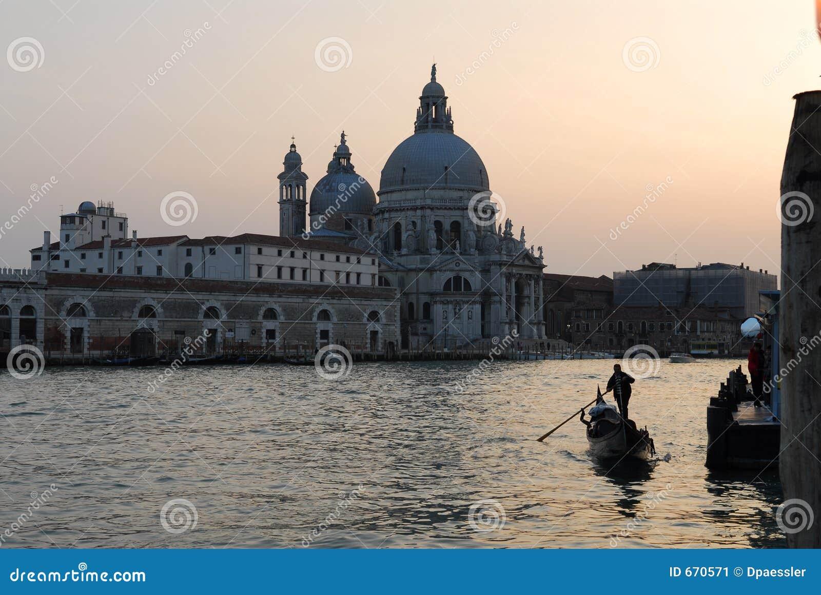 De Begroeting van Santa Maria Della, Venetië