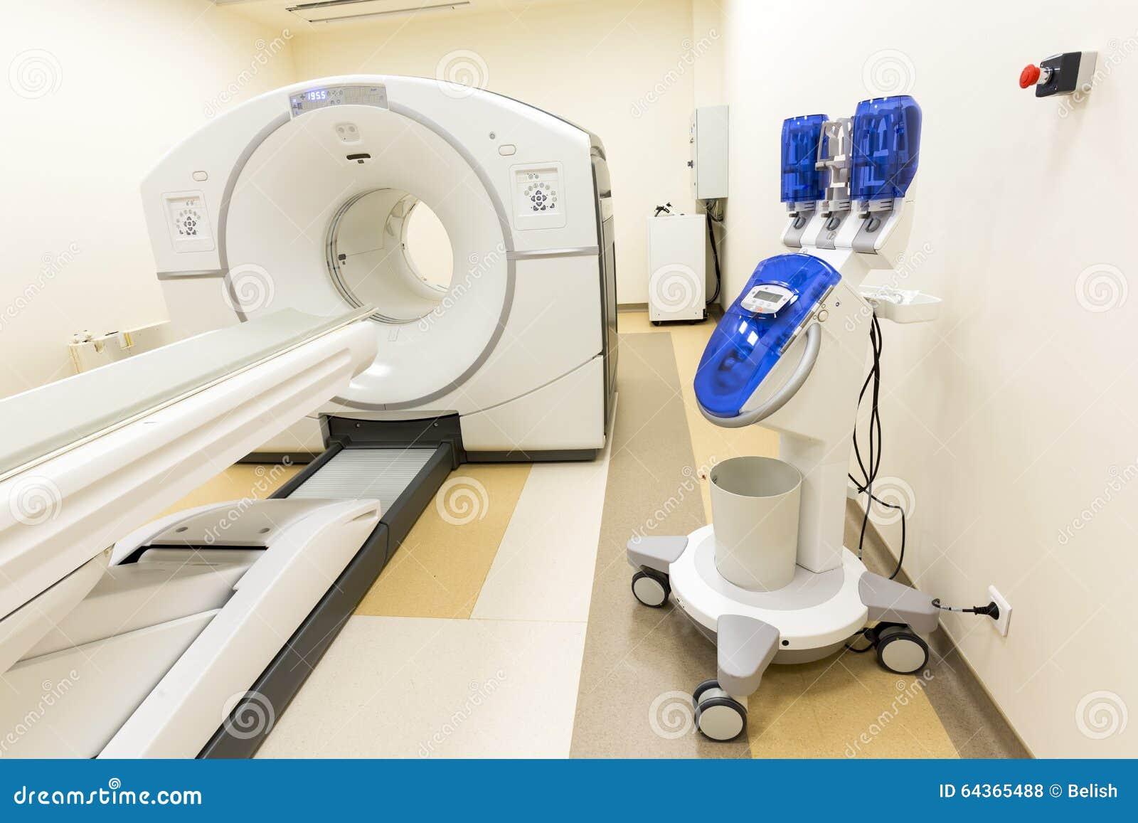 De behandelingsscanner van tomografiekanker