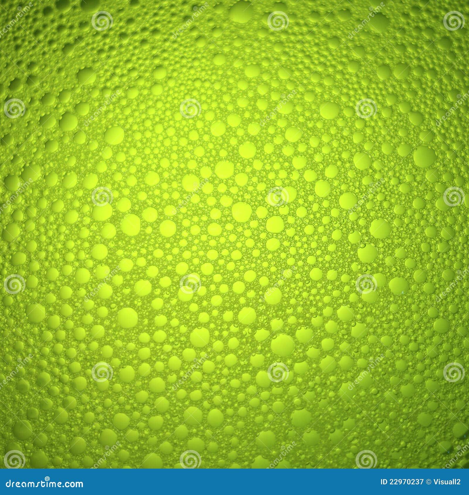 De bellen van het water achtergrond stock afbeelding afbeelding 22970237 - Groen behang van het water ...