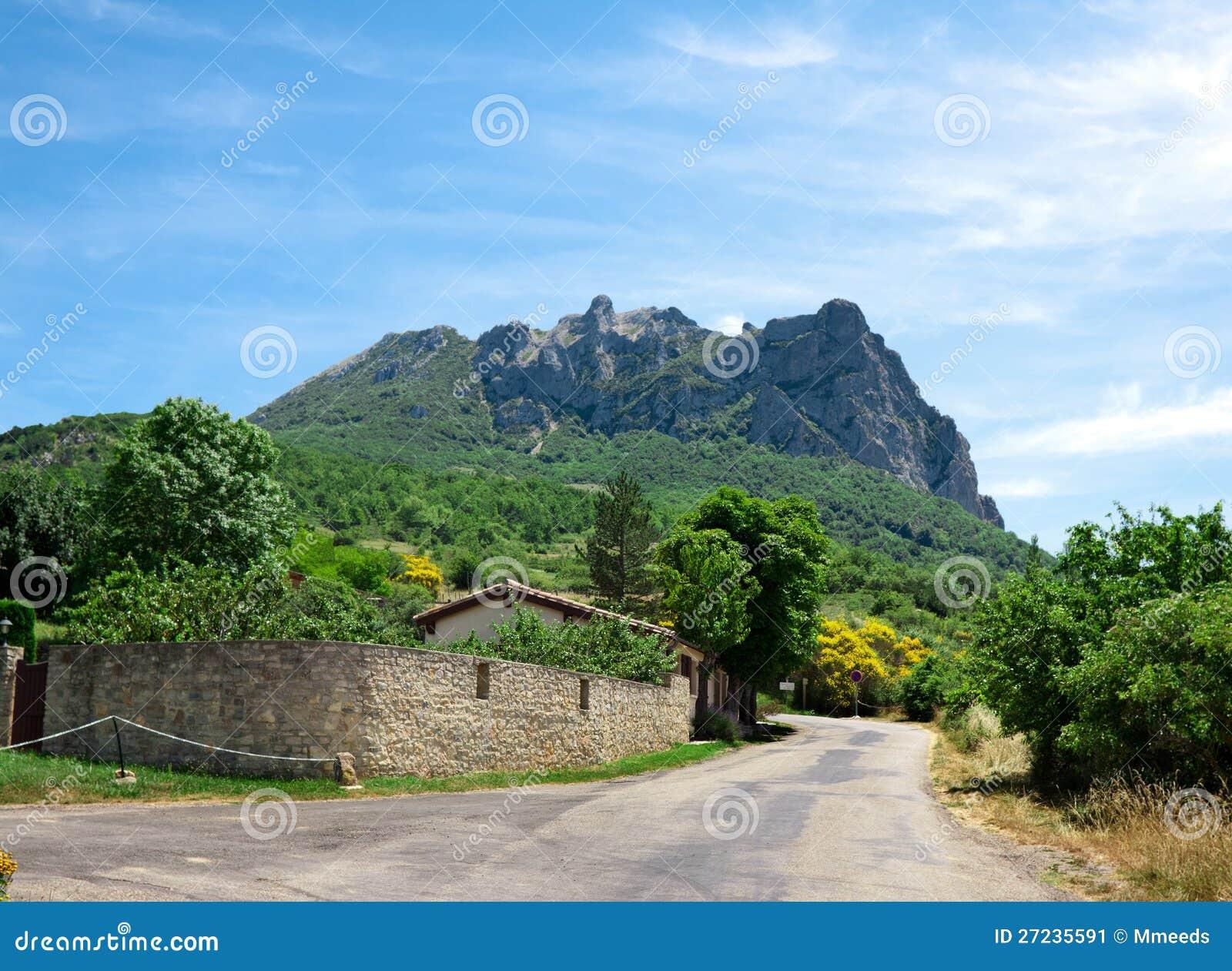 De berg van Bugarach