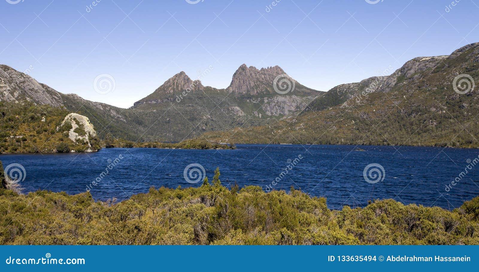 De Berg van de wieg in Tasmanige