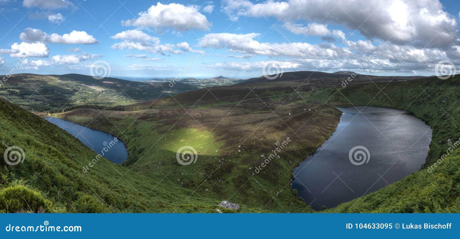 Download De Bergen Nationaal Park Van Wicklow Stock Afbeelding - Afbeelding bestaande uit ierland, park: 104633095