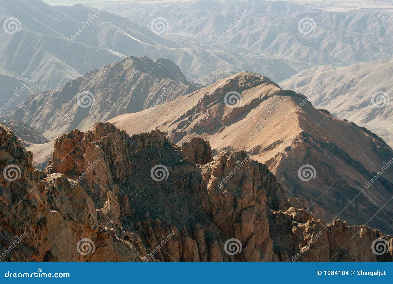 De Bergen Van De Atlas Marokko Stock Foto Afbeelding