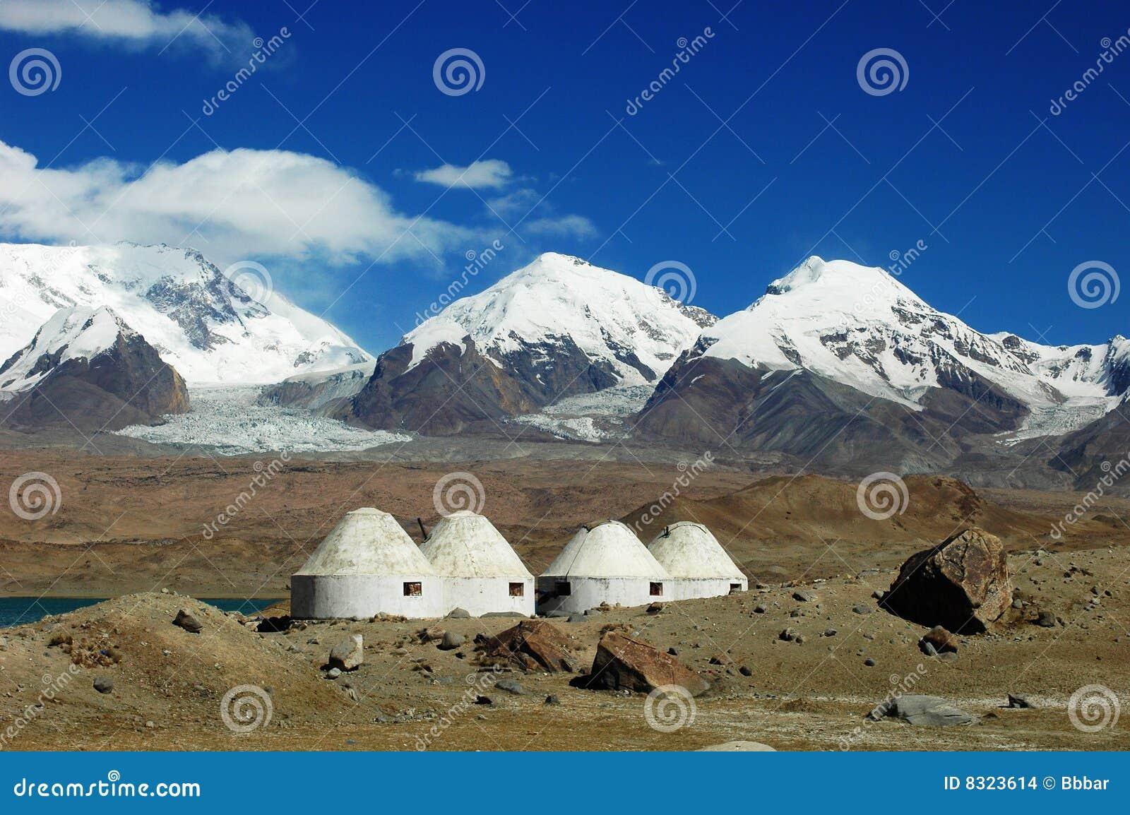 De Bergen van de sneeuw