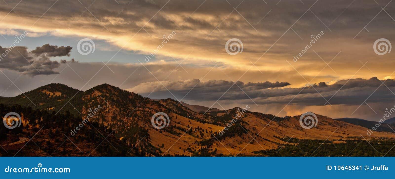 De Bergketen van Colorado van de kei