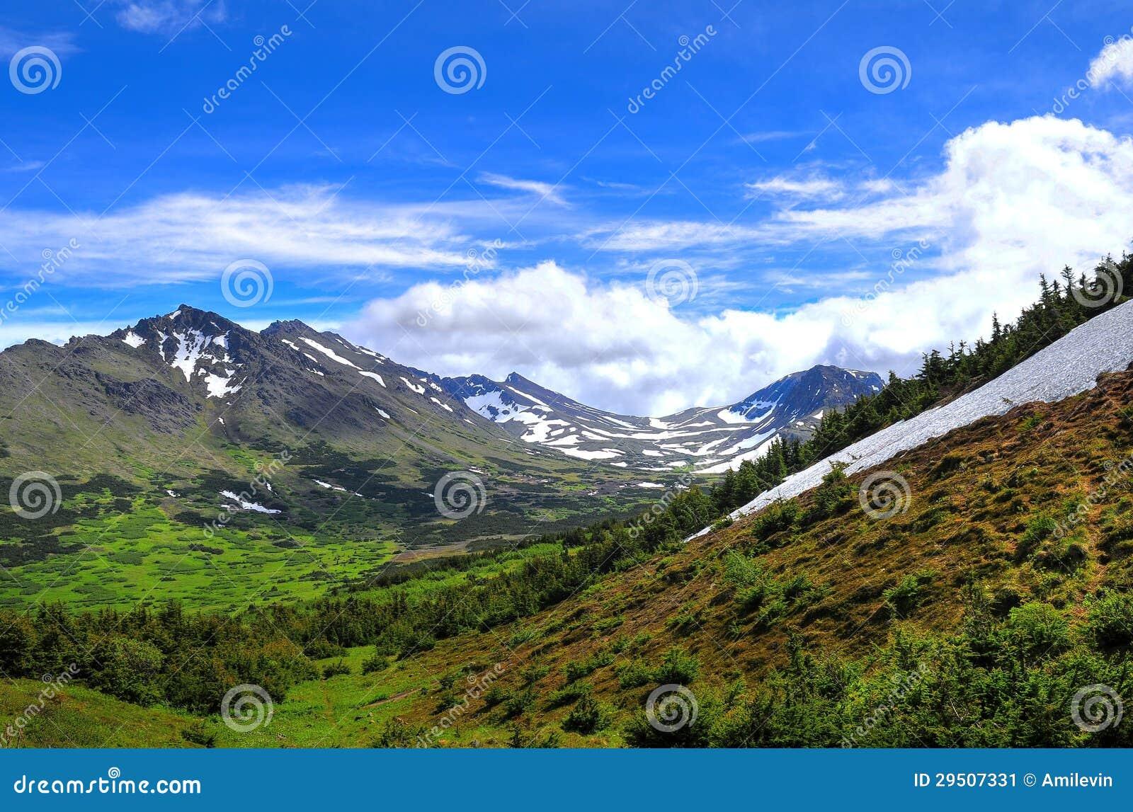 De bergmeningen van Alaska