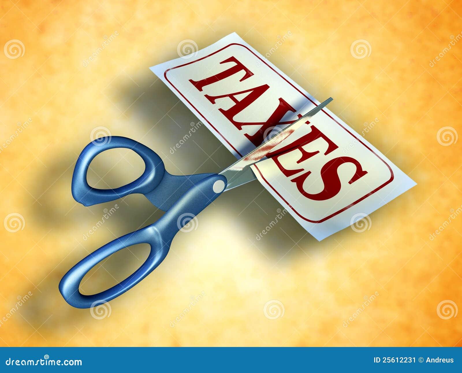 De besnoeiing van de belasting