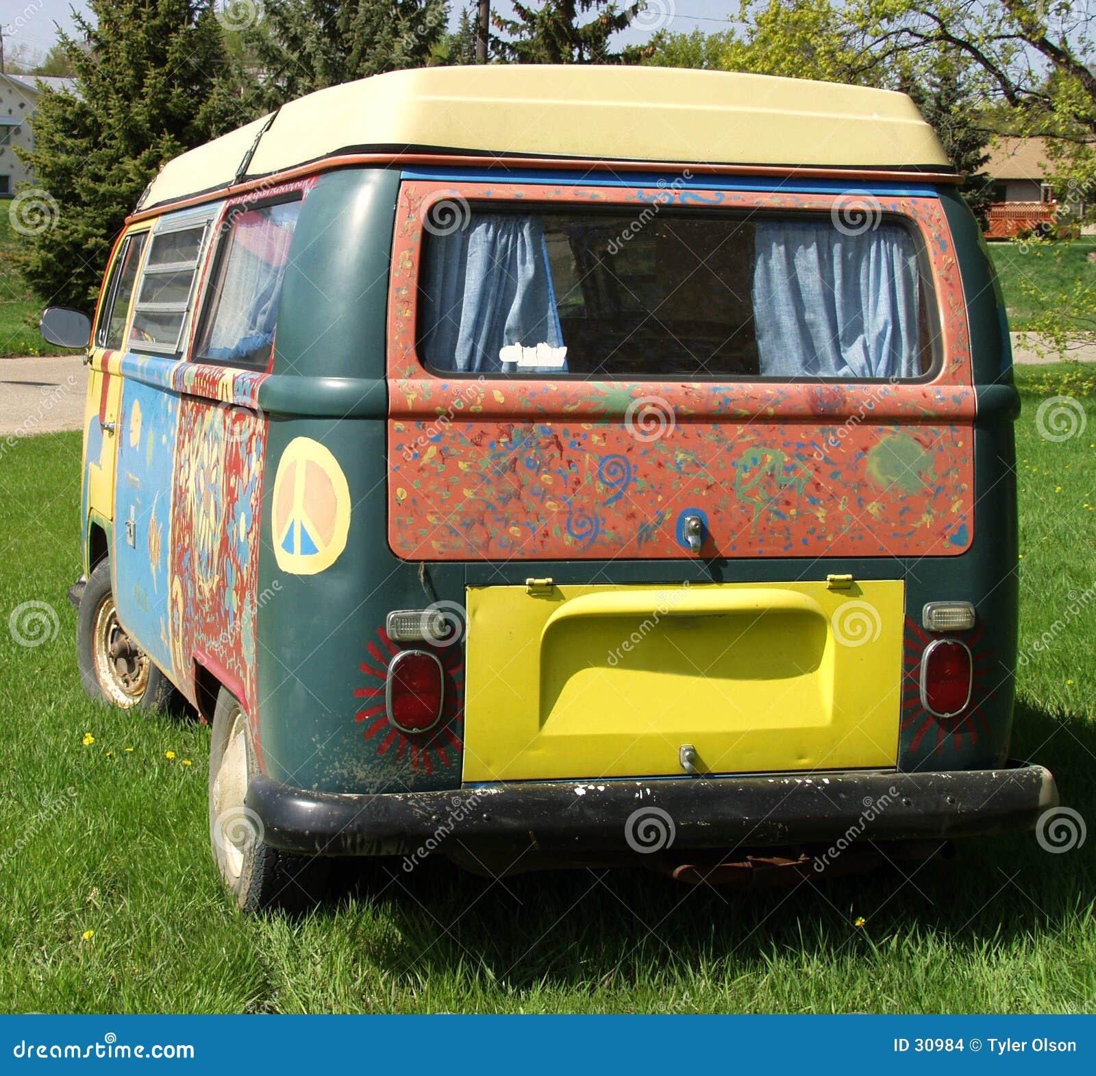 De Bestelwagen van de hippie