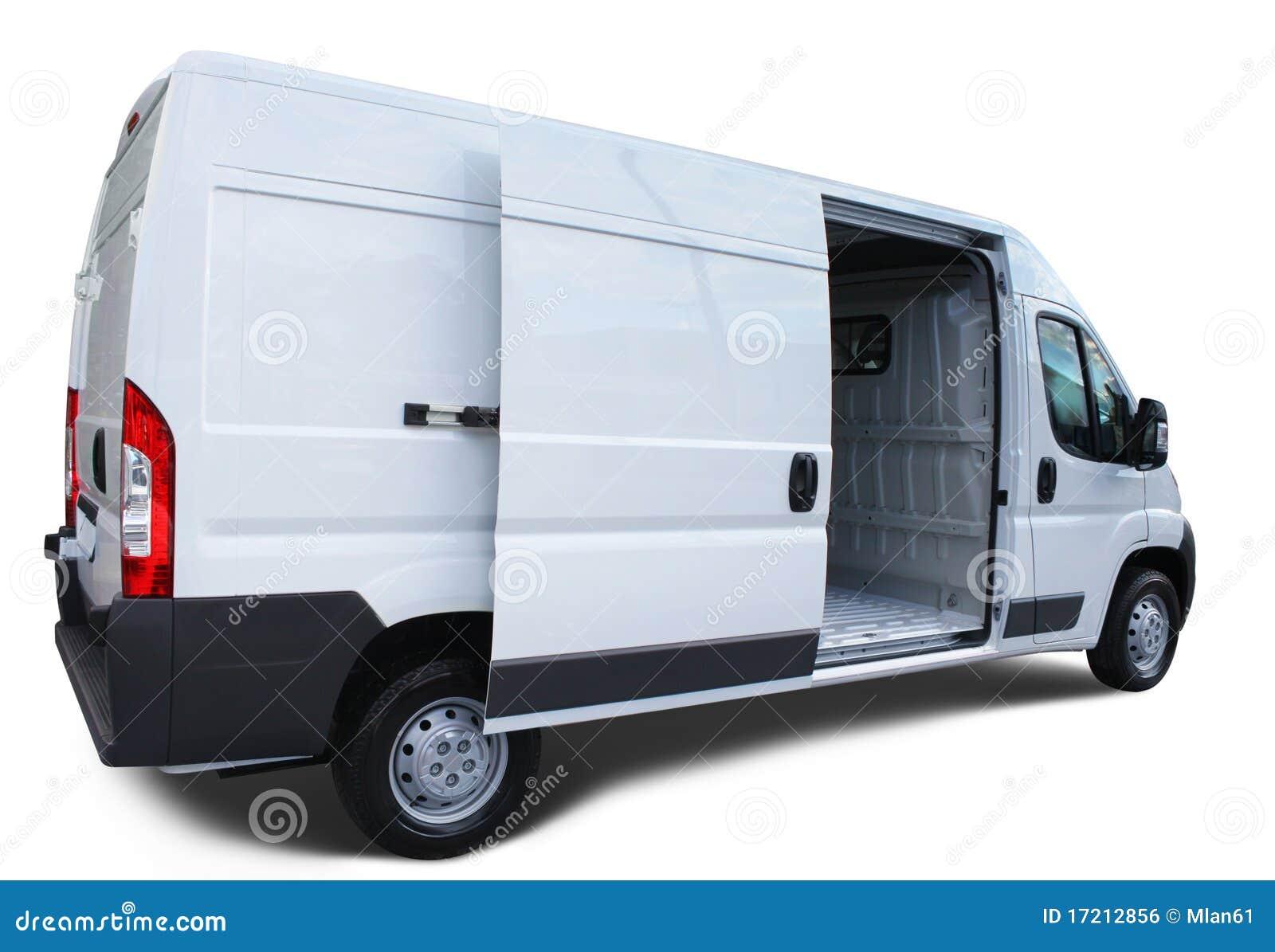 De Bestelwagen Van De Levering Stock Foto Afbeelding