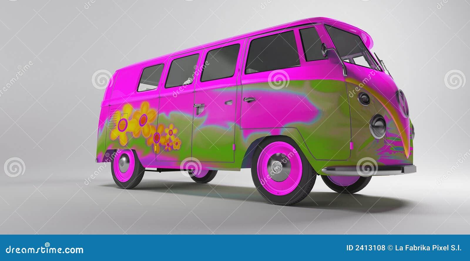 De Bestelwagen van Hippy
