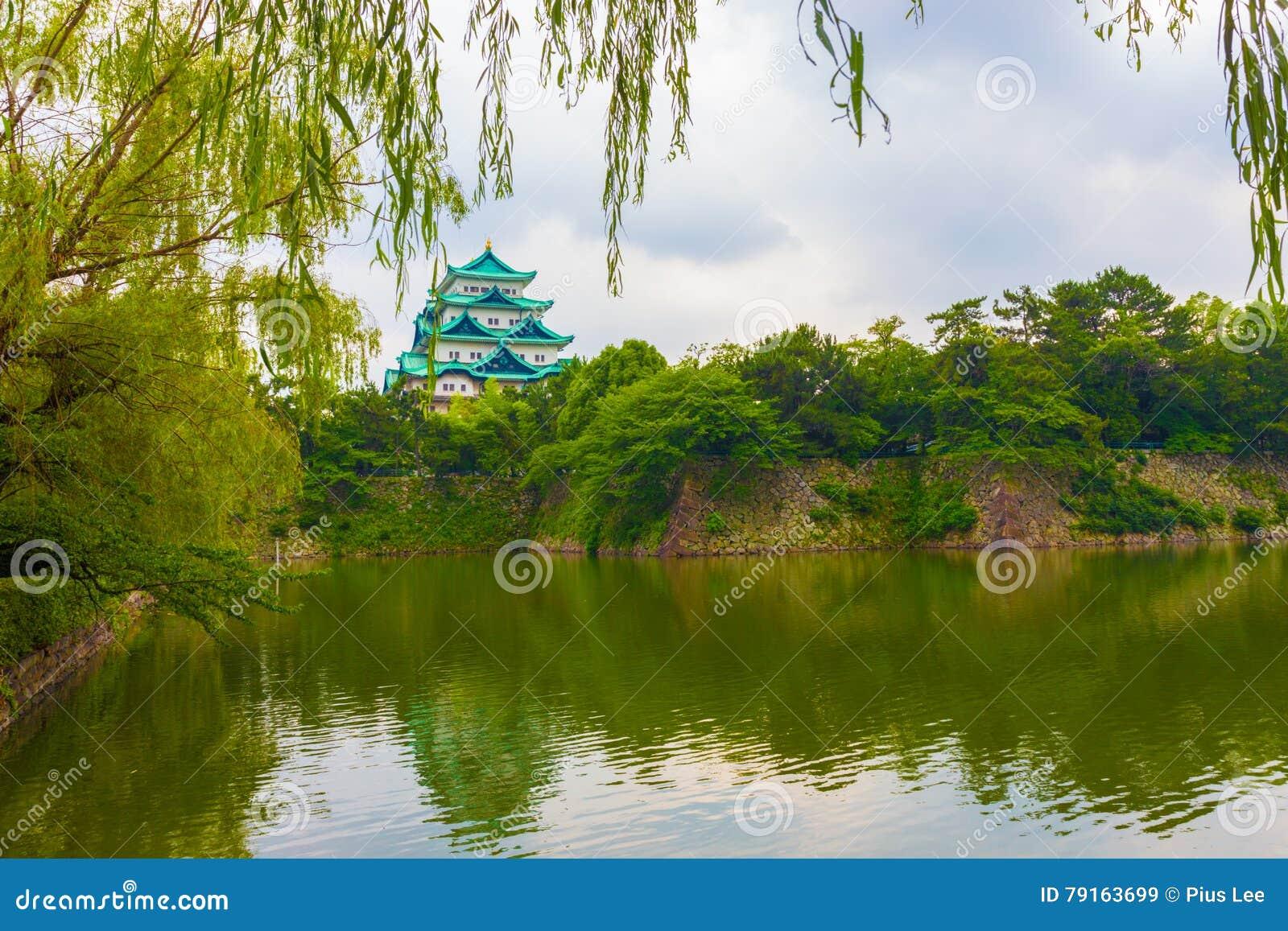 De Bezinning van de het Kasteelgracht van Nagoya verlaat Kaderboom H