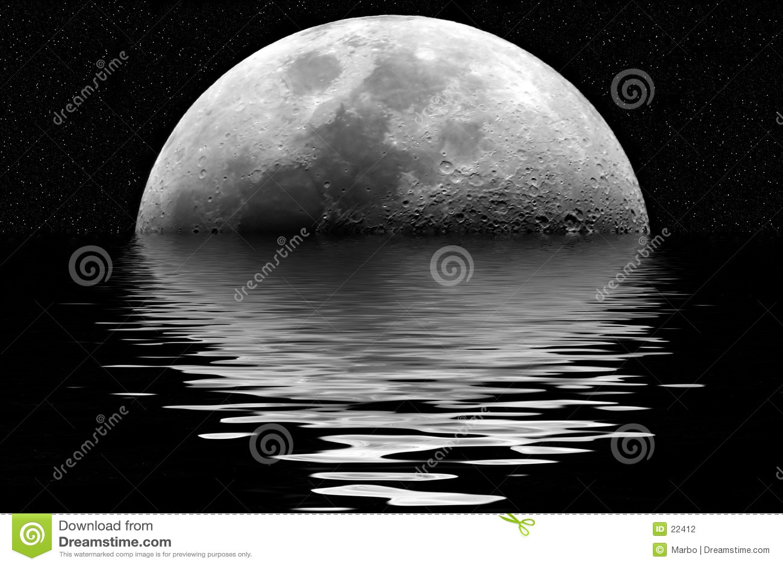 De bezinning van de maan