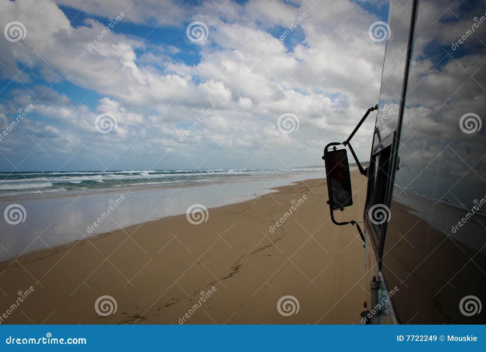 De Bezinningen van het strand