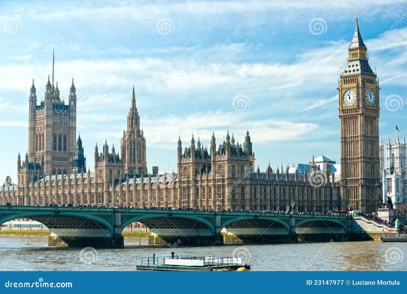 De big ben en het huis van het parlement londen stock afbeelding afbeelding 23147977 - Het upgraden van m ...