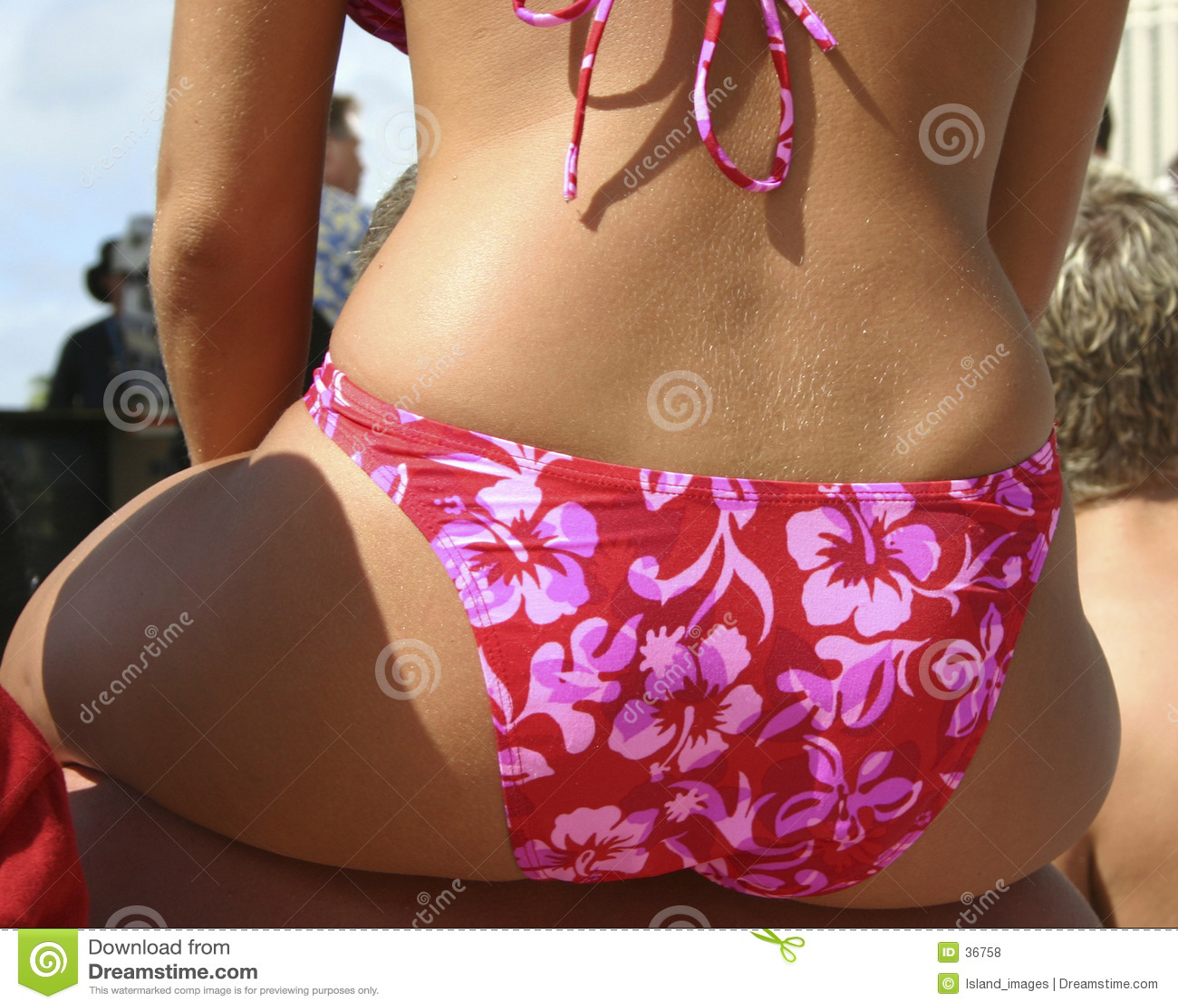 De Bikini van de hibiscus