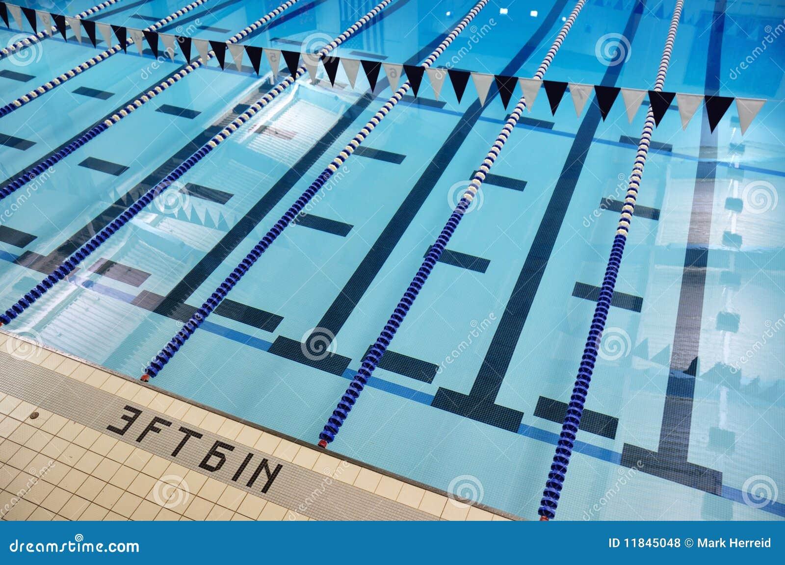 De binnen Stegen van het Zwembad