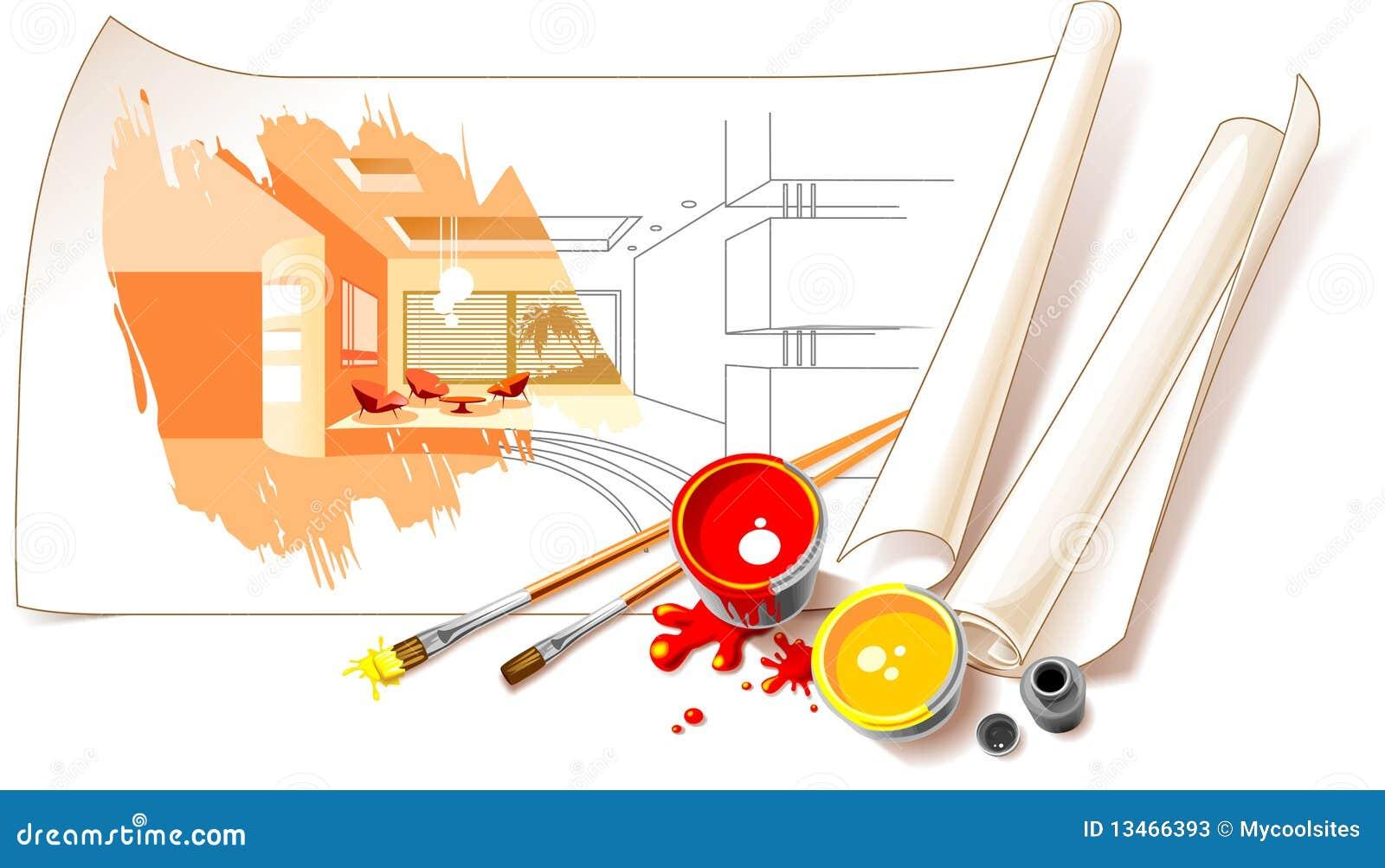 De binnenlandse tekeningen van het ontwerp stock foto 39 s afbeelding 13466393 - Separateur van stuk ontwerp ...