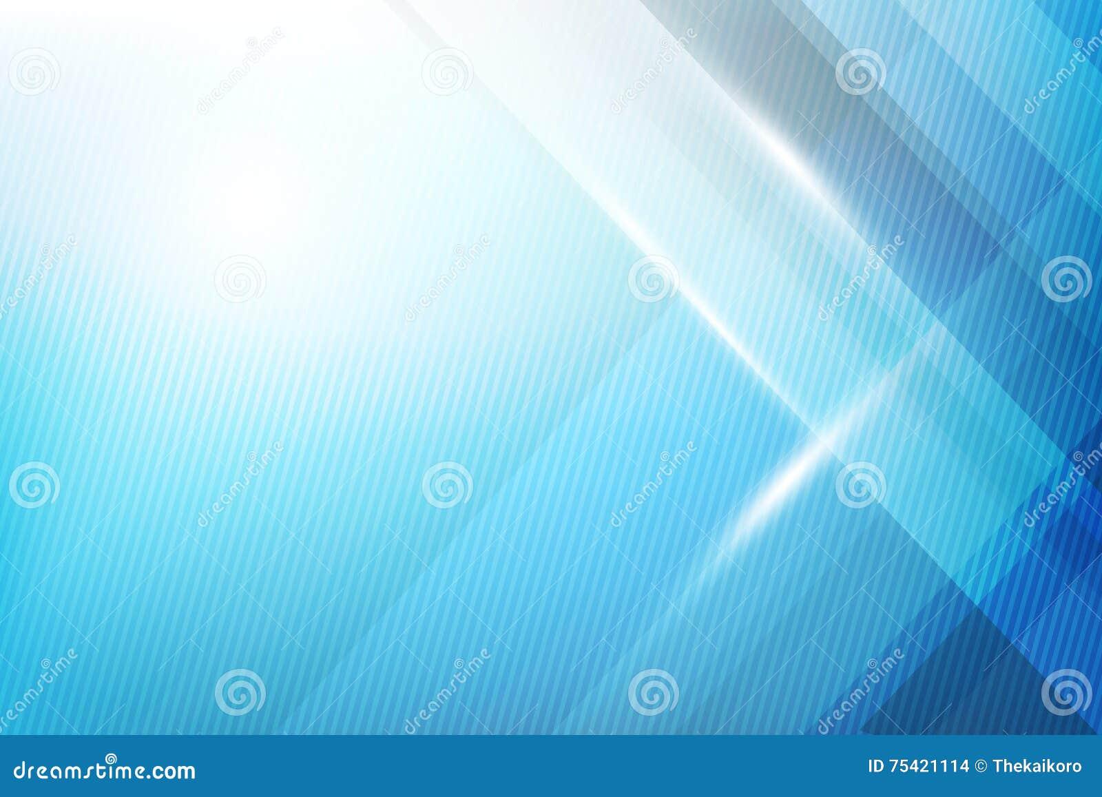De blauwe Abstracte meetkunde als achtergrond glanzen en de vector van het laagelement