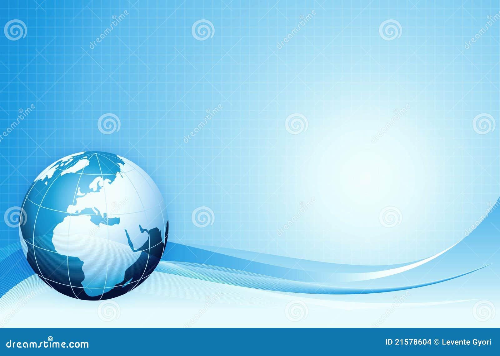 De blauwe achtergrond van de Aarde, www, Internet