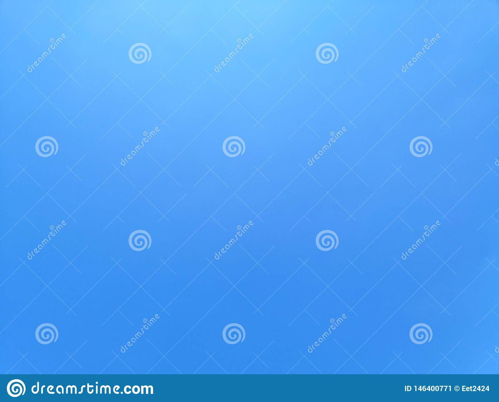 De blauwe achtergrond van het Hemellandschap