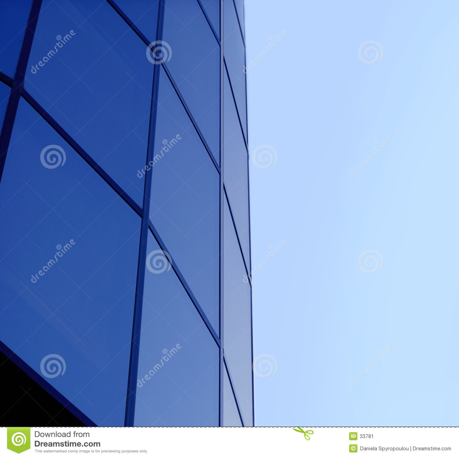 Download De blauwe collectieve bouw stock afbeelding. Afbeelding bestaande uit structuren - 33781