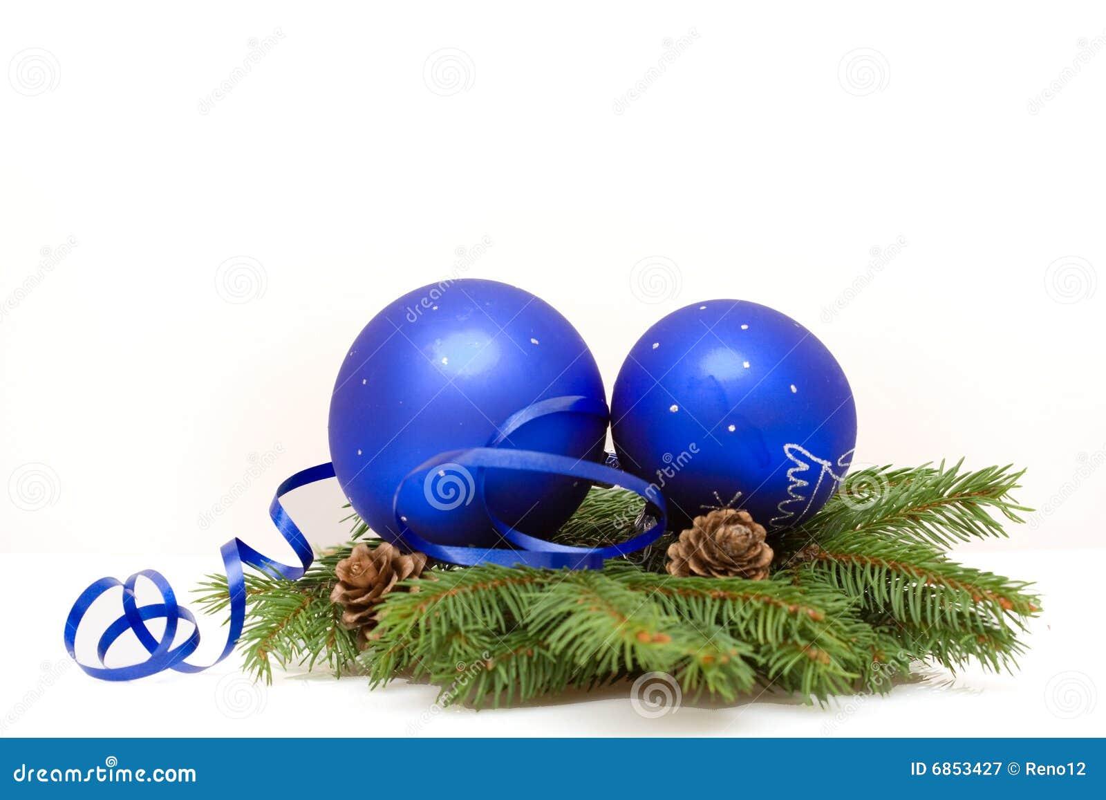 De blauwe decoratie van kerstmis royalty vrije stock fotografie afbeelding 6853427 - Blauwe turquoise decoratie ...