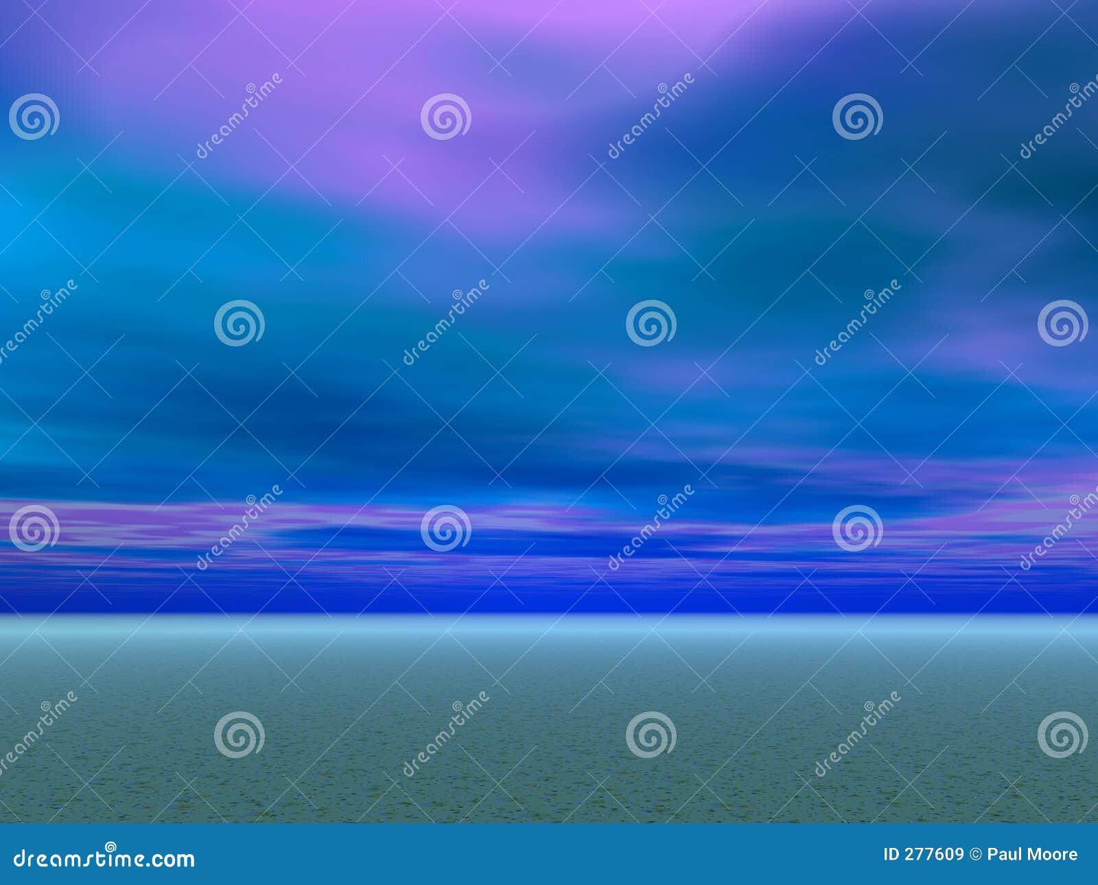 De blauwe Hemelen van de Woestijn