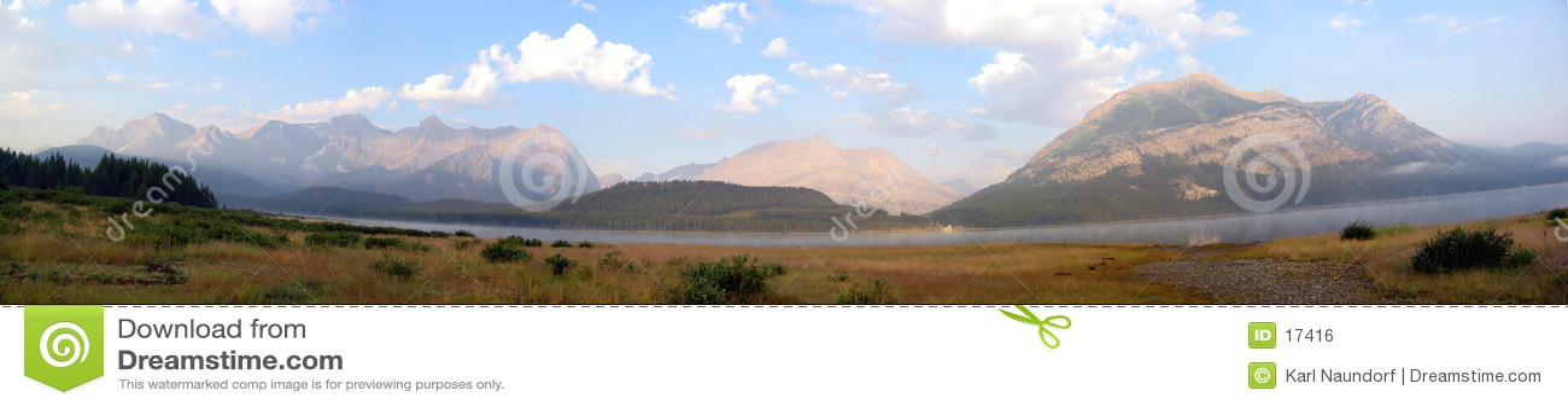 De blauwe Panoramische Berg van Hemelen