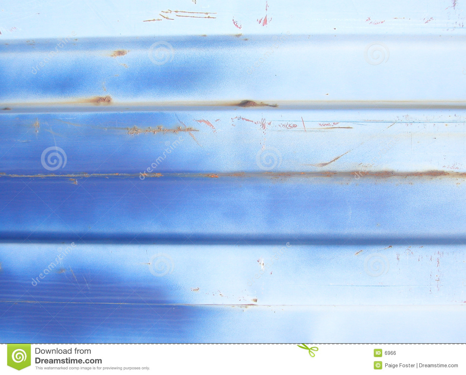 De blauwe Samenvatting van het Metaal