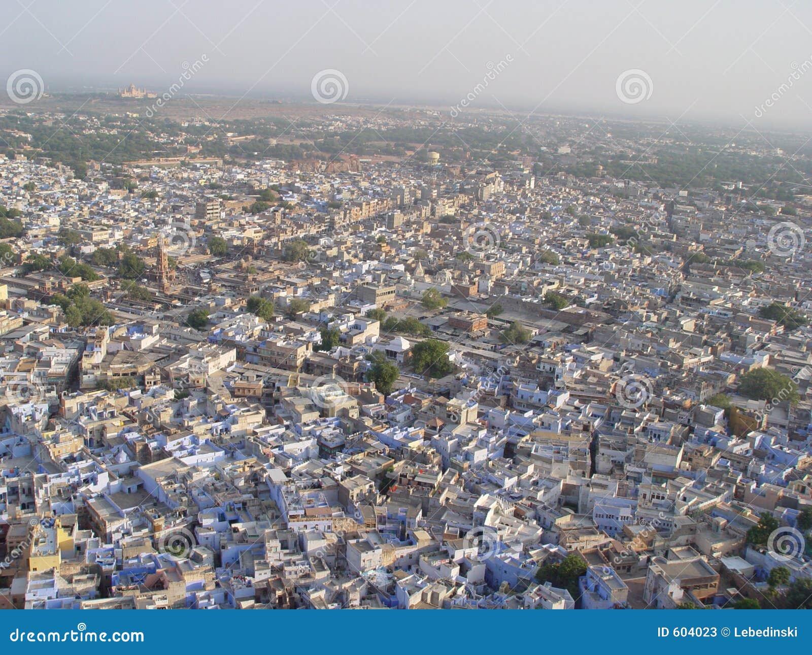 De Blauwe Stad van Jodhpur