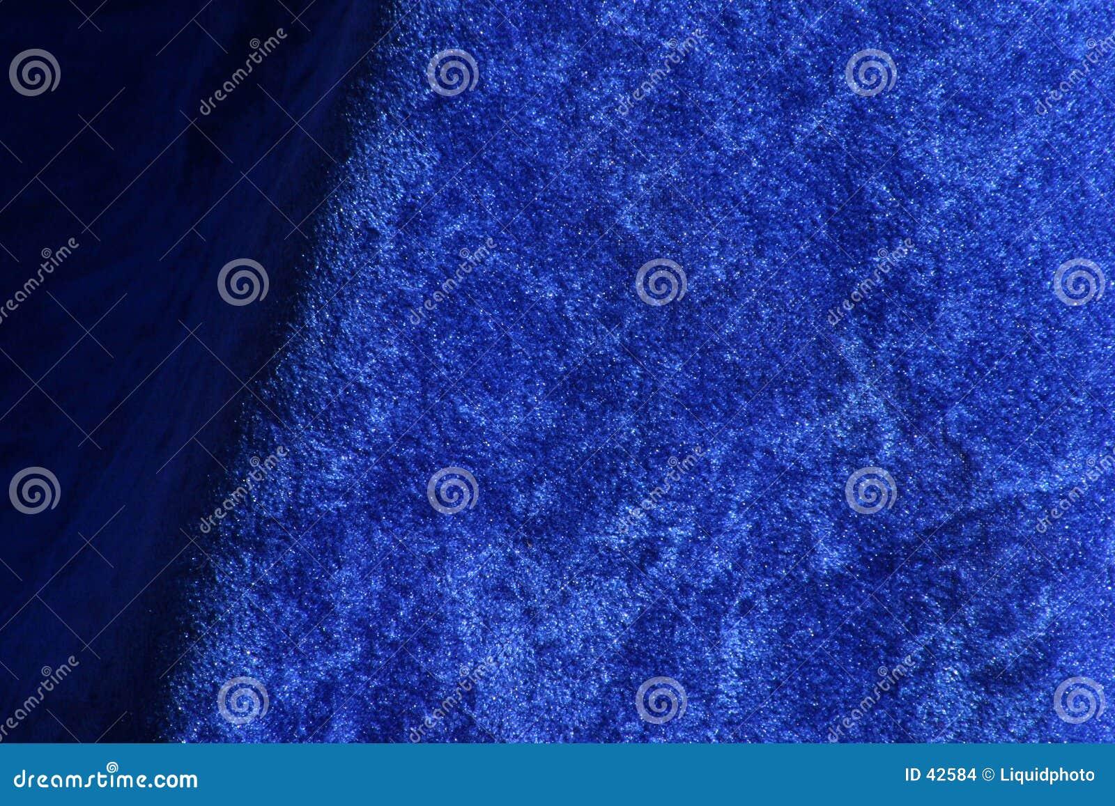 De blauwe Textuur van de Stof