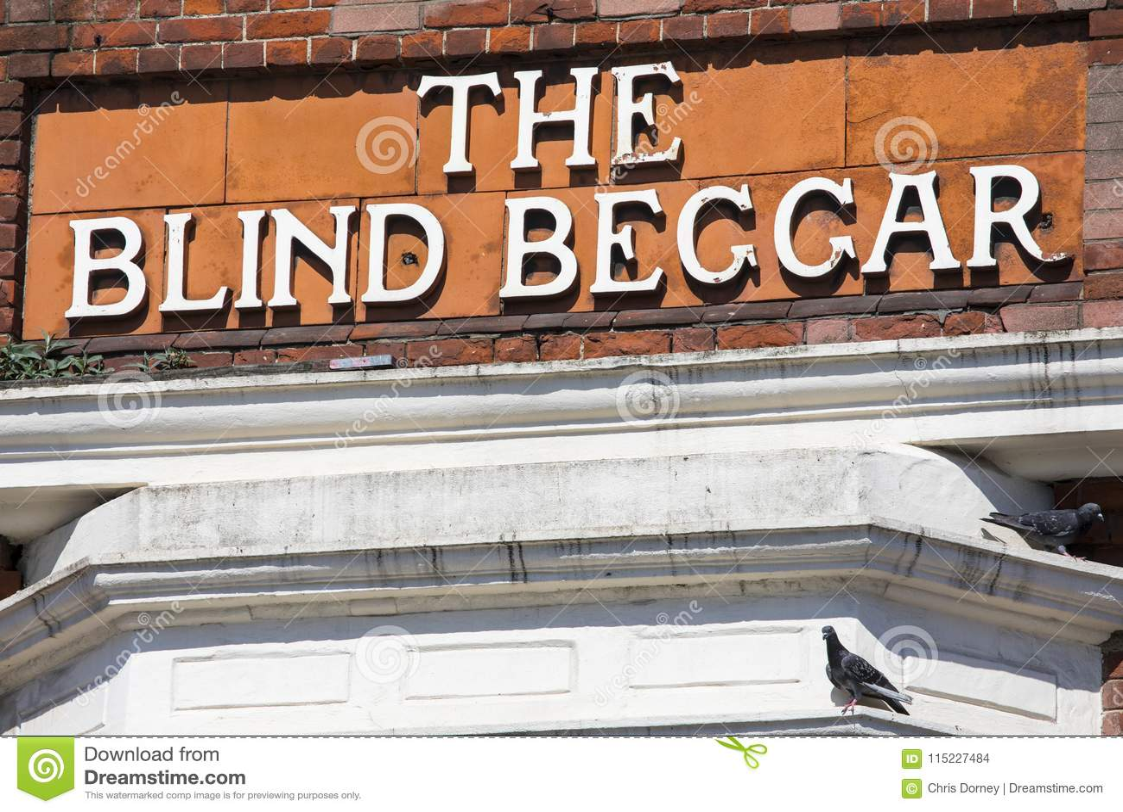 De Blinde Bedelaar Pub in Londen