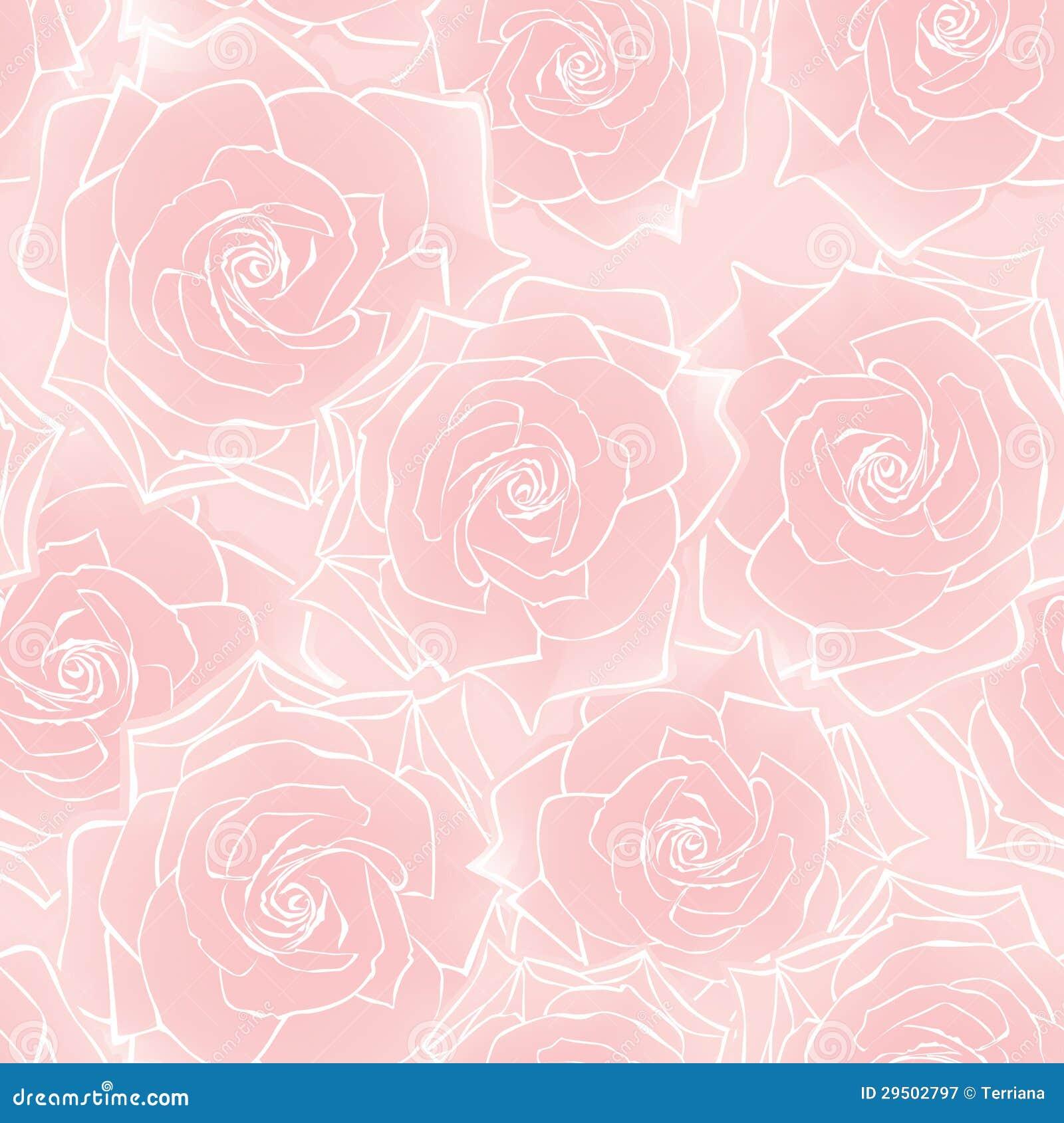 De bloem nam naadloos patroon toe